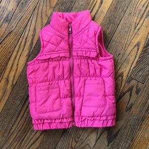 Girls Children's Place Puffer Vest 3T